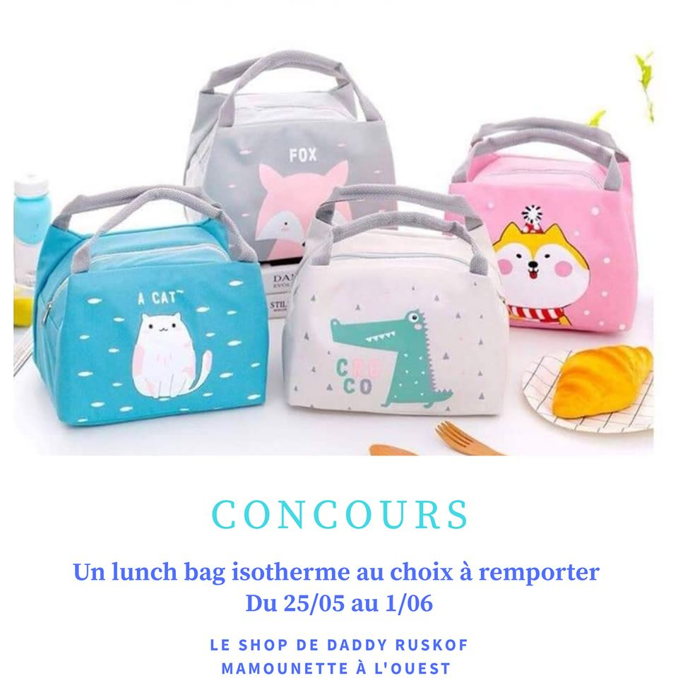 Concours lunch bag daddy ruskof