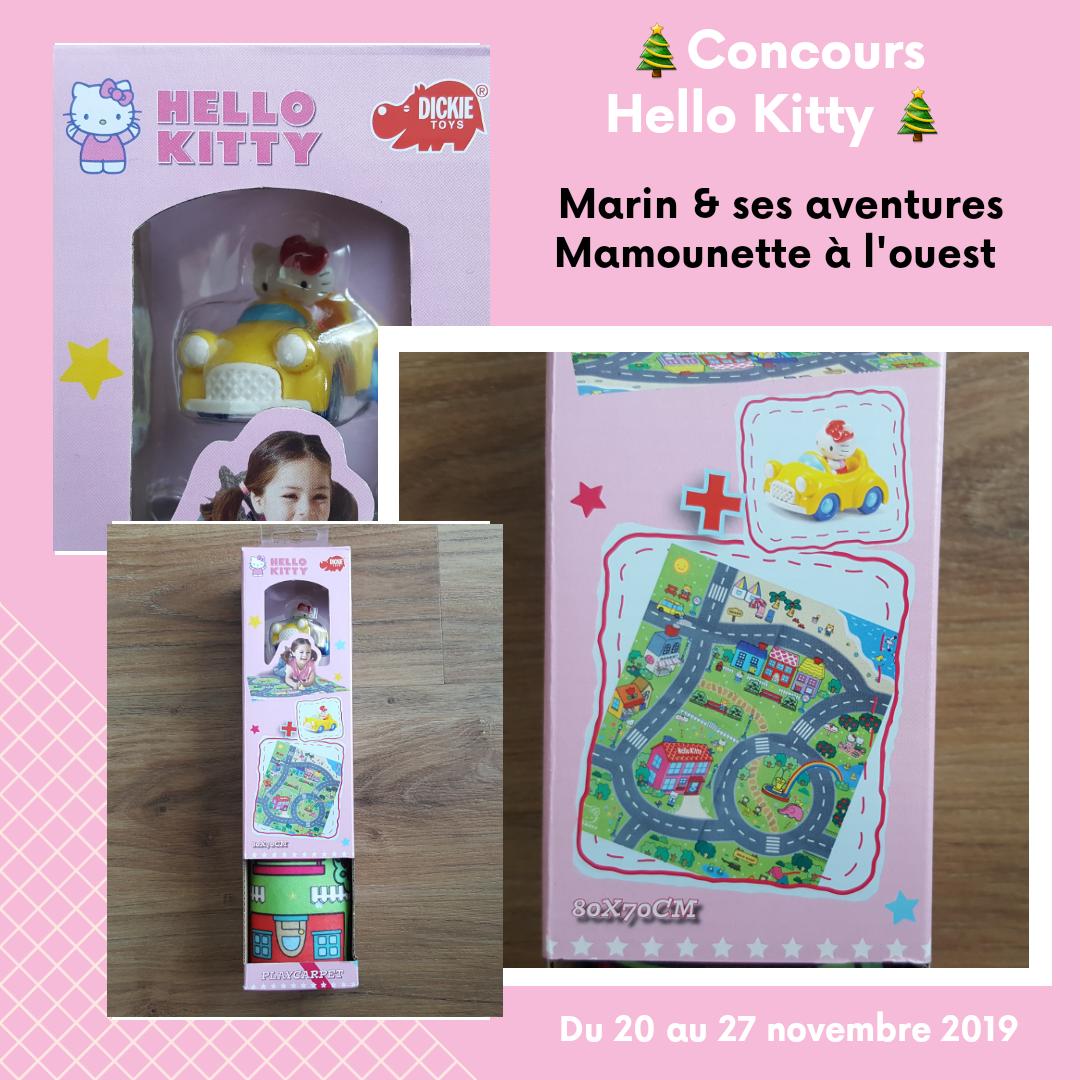 Concours Hello Kitty mamounette à l'ouest avec Marin & ses aventures