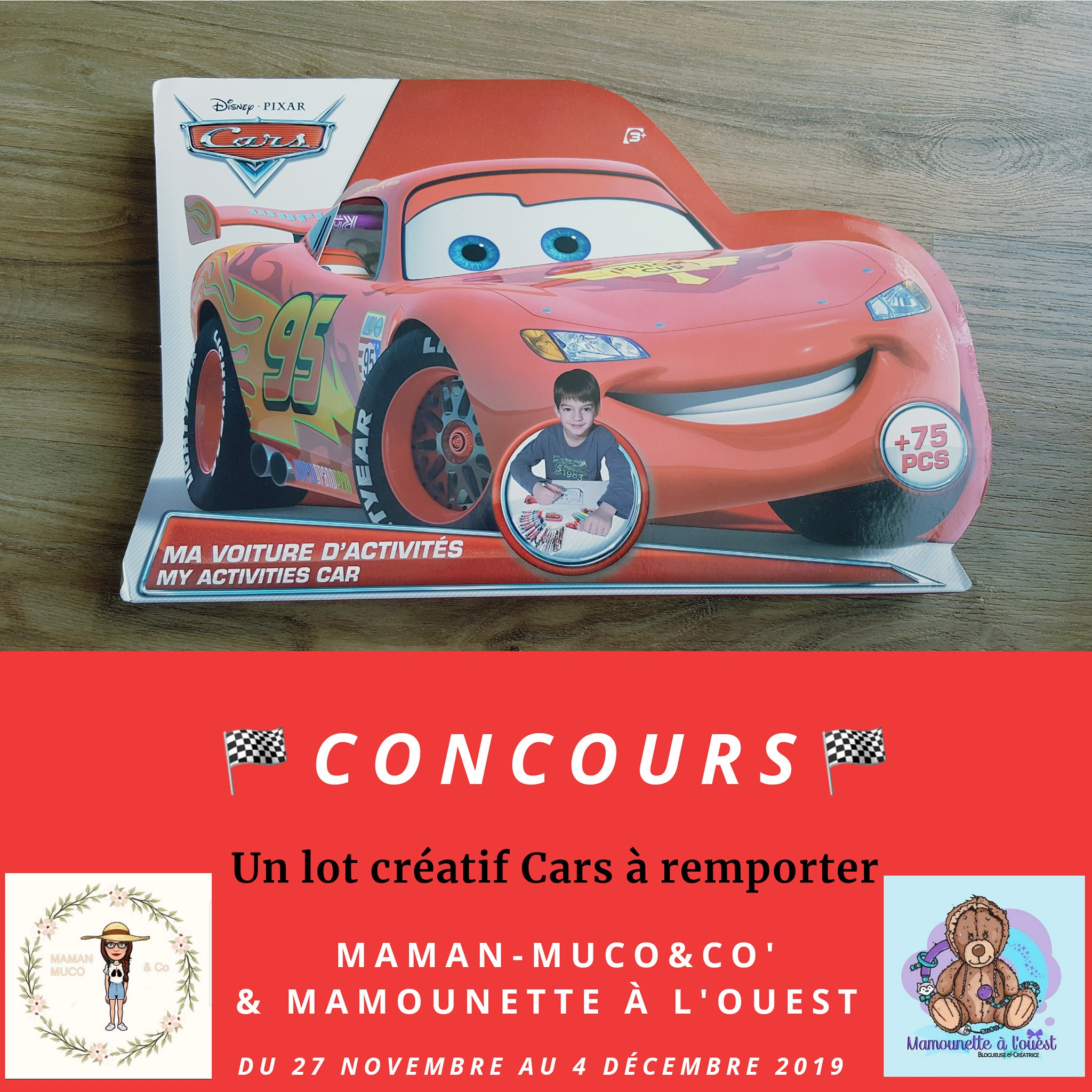 Concours Cars avec Maman-Muco&Co
