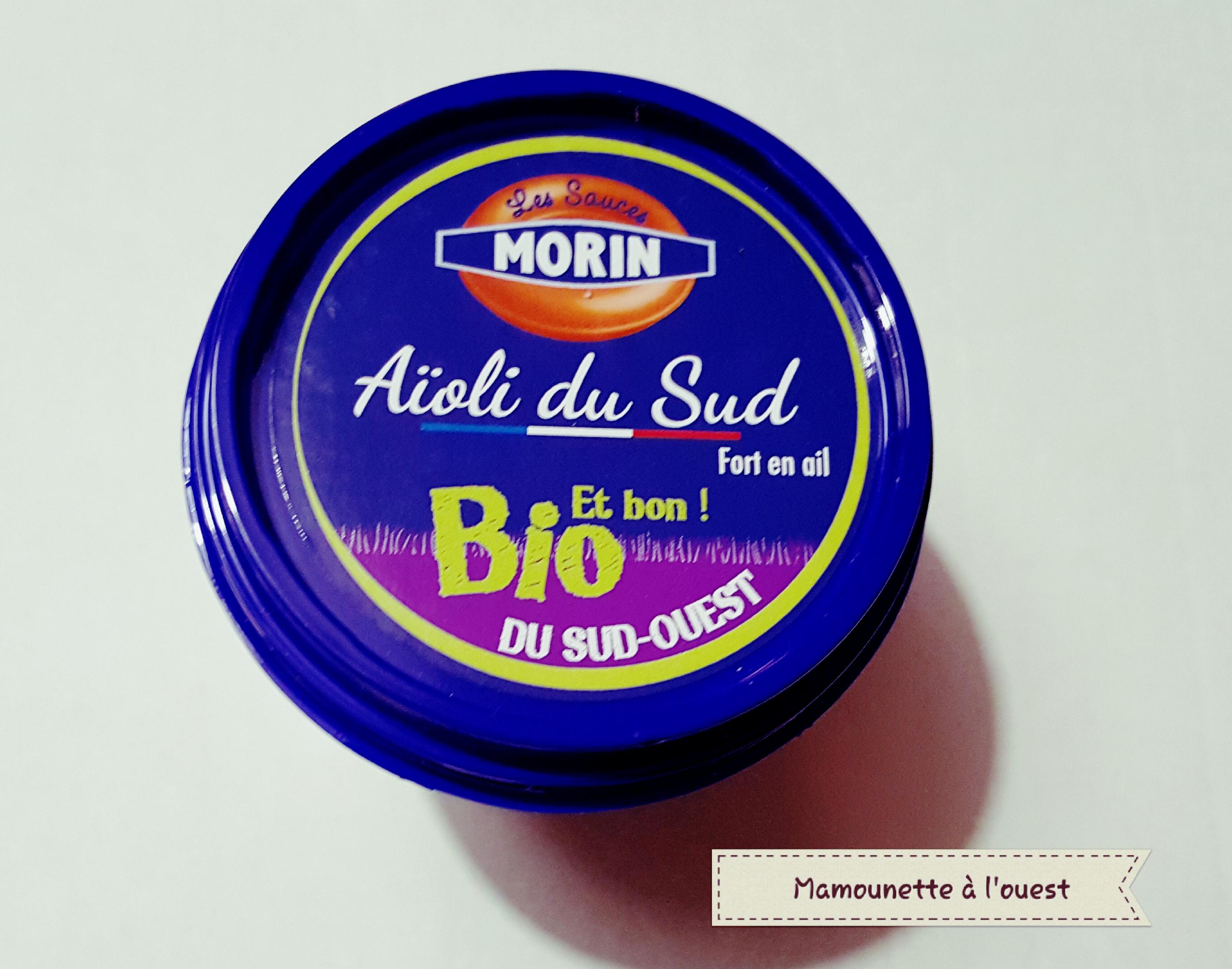 Aïoli Bio Les Sauces Morin