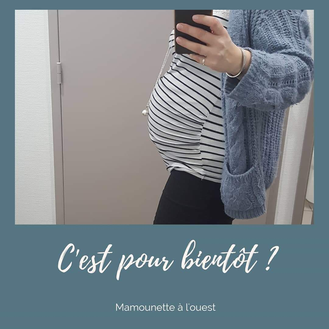 Changement du corps pendant la grossesse