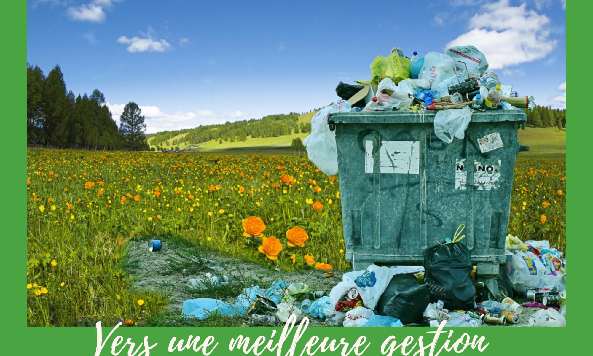 Article sur la gestion des déchets