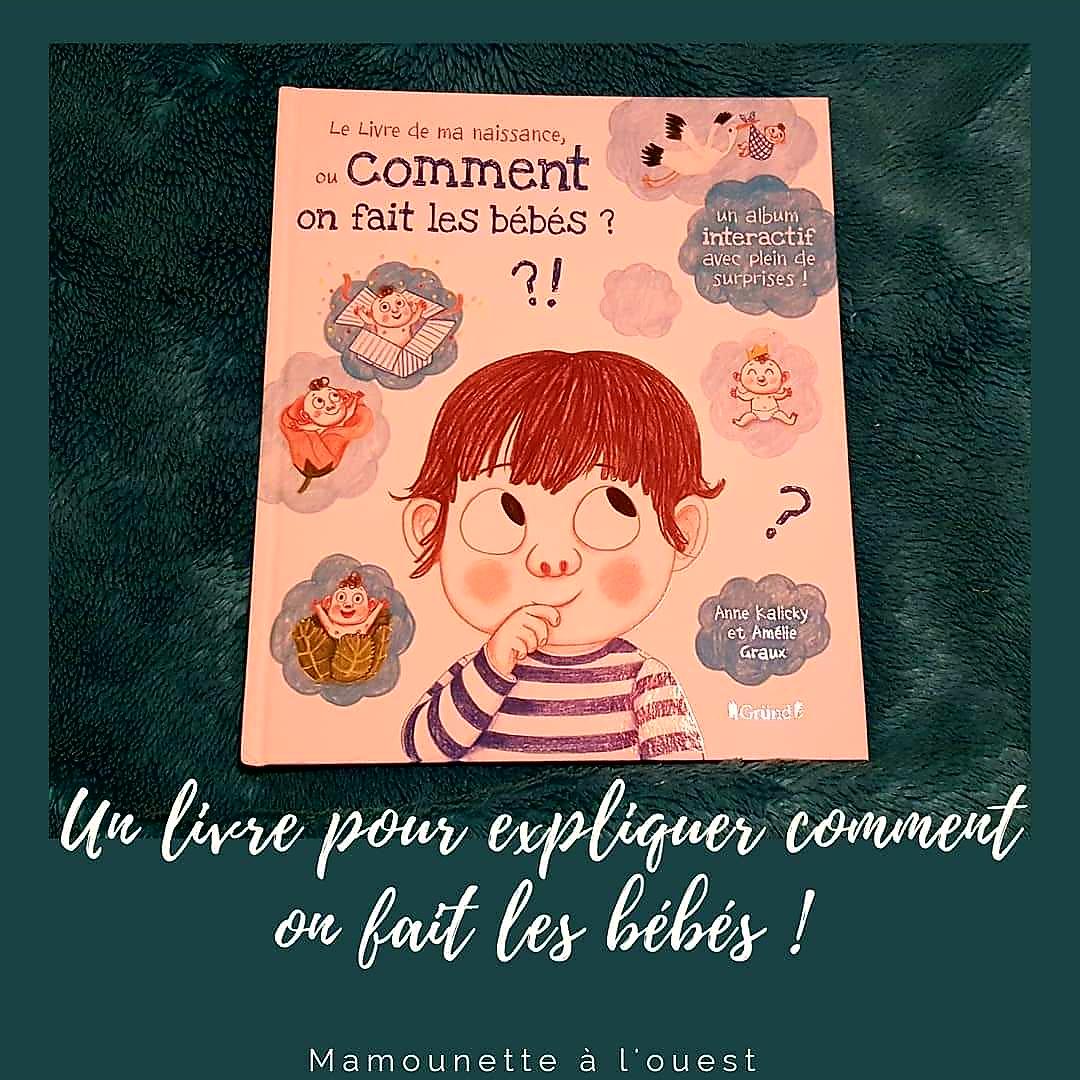 Un livre pour expliquer aux enfants comment on fait les bébés.
