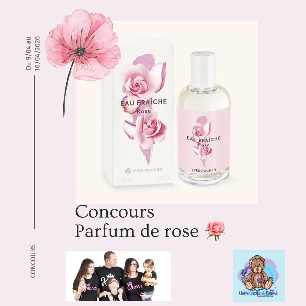 Concours Parfum de Rose