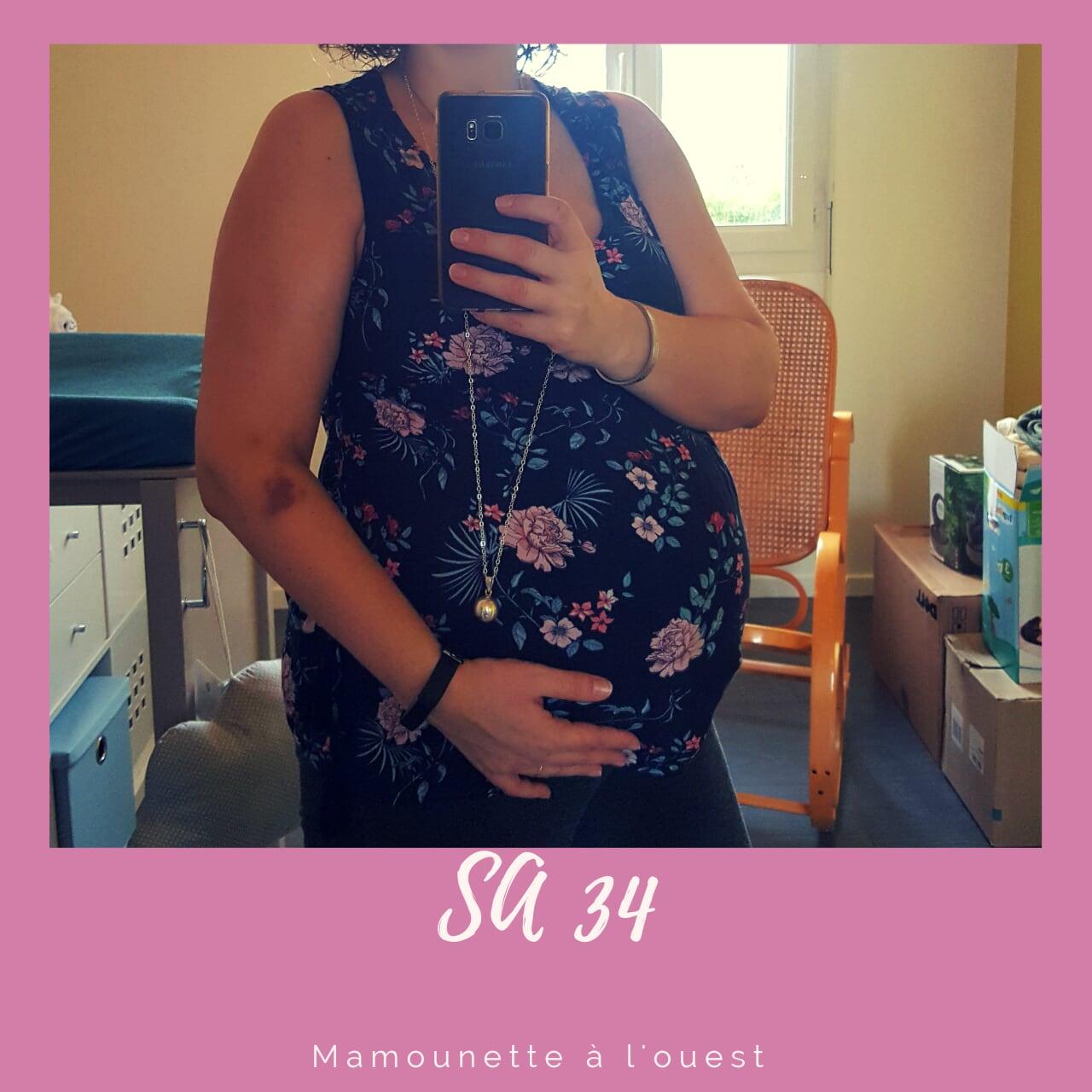 Semaine 34 de grossesse