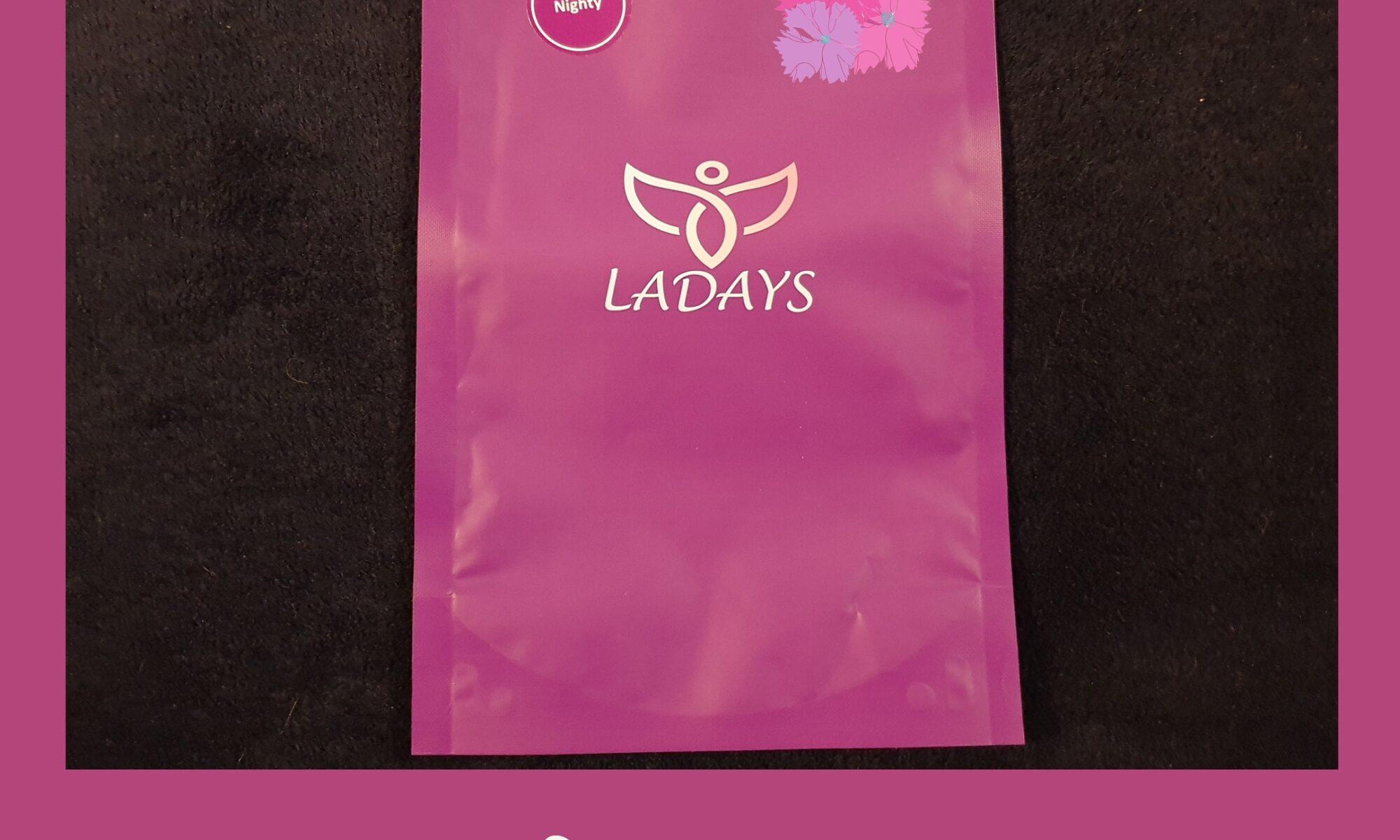 Test culottes menstruelles ladays