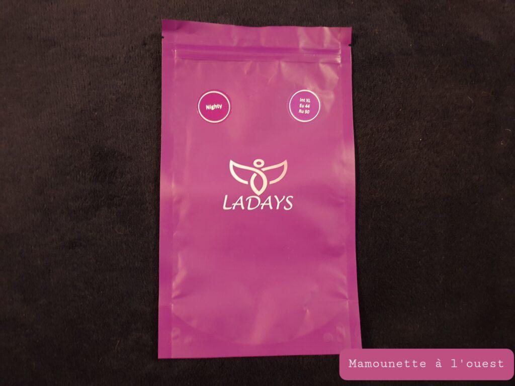 Pochette de transport culottes menstruelles Ladays