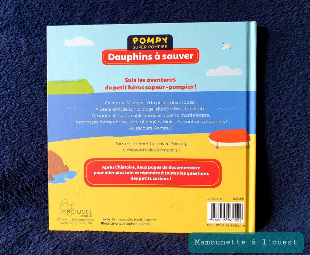 Livre Pompy, Dauphin à Sauver.