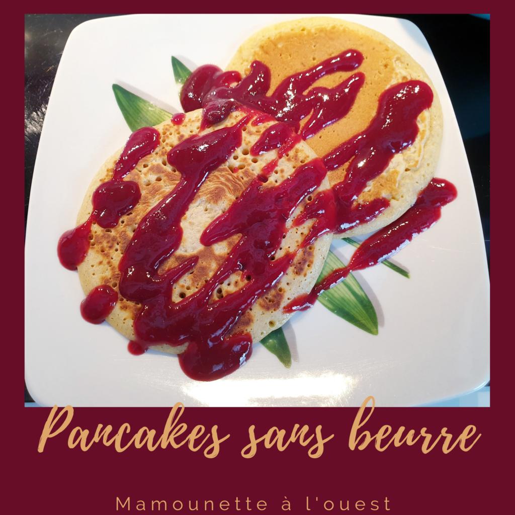 Recette des pancakes rapides et sans beurre